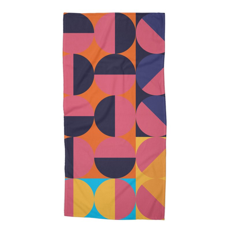 Geometric Design Series 4, Poster 8 Accessories Beach Towel by Madeleine Hettich Design & Illustration
