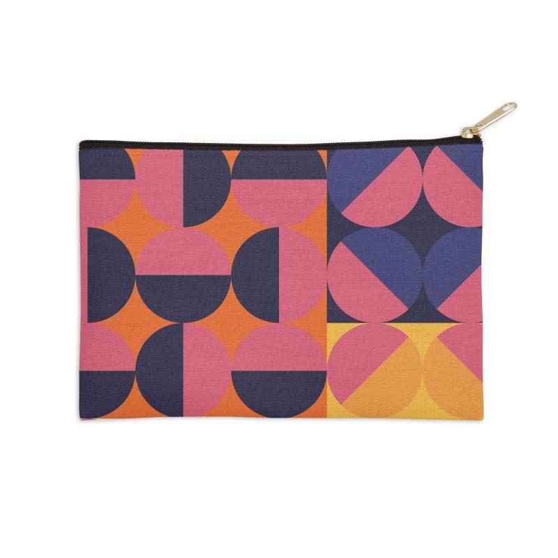 Geometric Design Series 4, Poster 8 Accessories Zip Pouch by Madeleine Hettich Design & Illustration