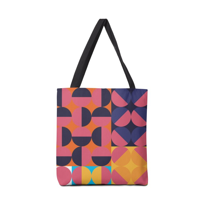 Geometric Design Series 4, Poster 8 Accessories Bag by Madeleine Hettich Design & Illustration