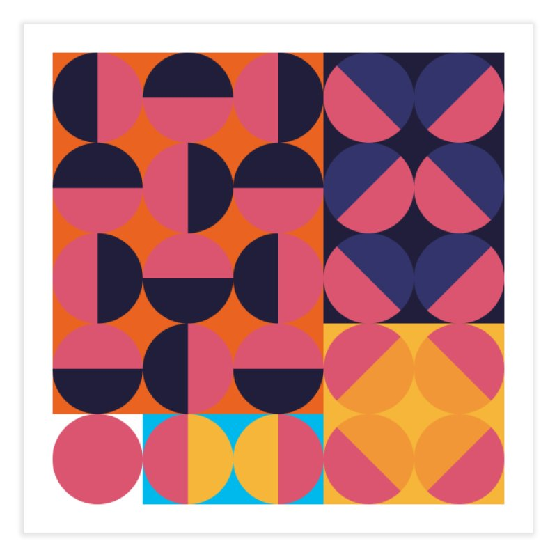 Geometric Design Series 4, Poster 8 Home Fine Art Print by Madeleine Hettich Design & Illustration