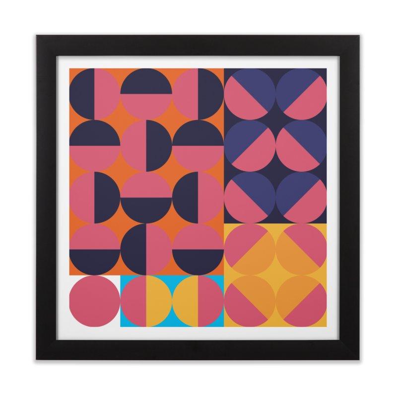 Geometric Design Series 4, Poster 8 Home Framed Fine Art Print by Madeleine Hettich Design & Illustration