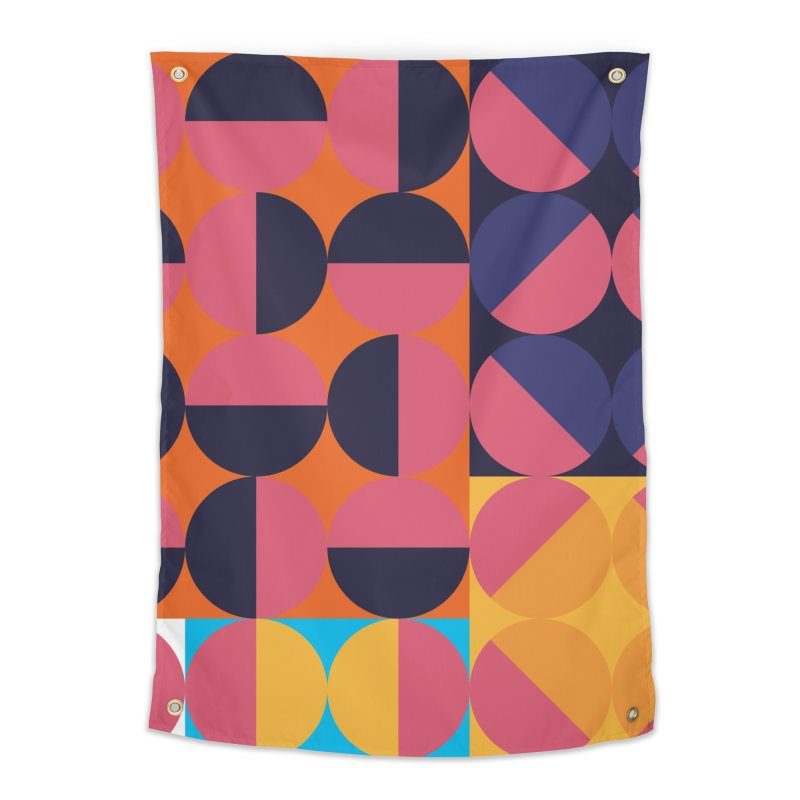 Geometric Design Series 4, Poster 8 Home Tapestry by Madeleine Hettich Design & Illustration