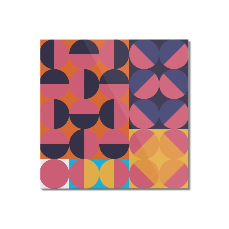 Geometric Design Series 4, Poster 8 Home Mounted Acrylic Print by Madeleine Hettich Design & Illustration