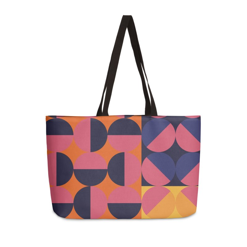 Geometric Design Series 4, Poster 8 Accessories Weekender Bag Bag by Madeleine Hettich Design & Illustration