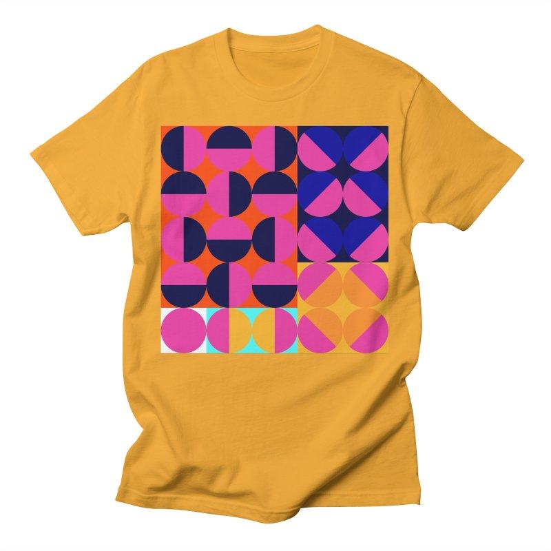 Geometric Design Series 4, Poster 8 (Version2) Men's T-Shirt by Madeleine Hettich Design & Illustration