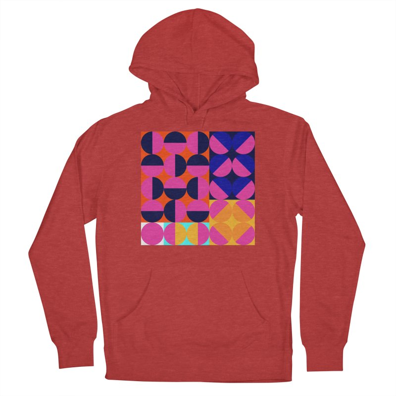 Geometric Design Series 4, Poster 8 (Version2) Women's French Terry Pullover Hoody by Madeleine Hettich Design & Illustration