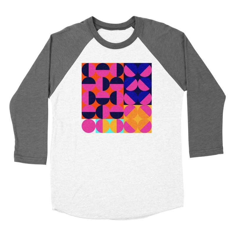 Geometric Design Series 4, Poster 8 (Version2) Women's Longsleeve T-Shirt by Madeleine Hettich Design & Illustration