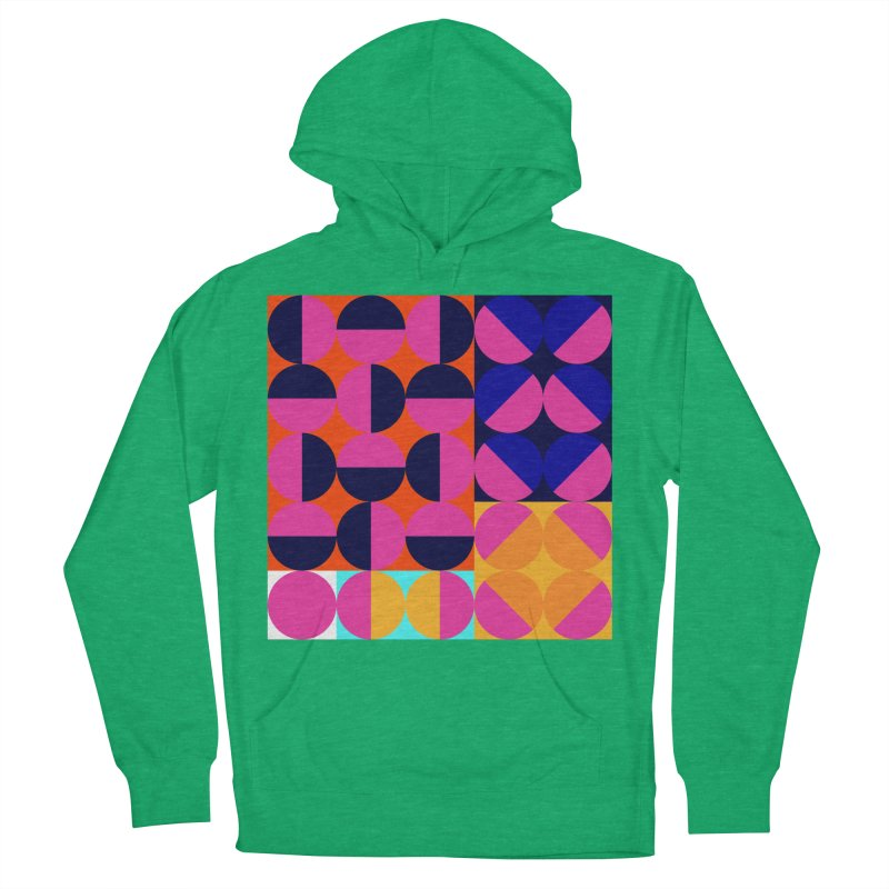 Geometric Design Series 4, Poster 8 (Version2) Men's French Terry Pullover Hoody by Madeleine Hettich Design & Illustration