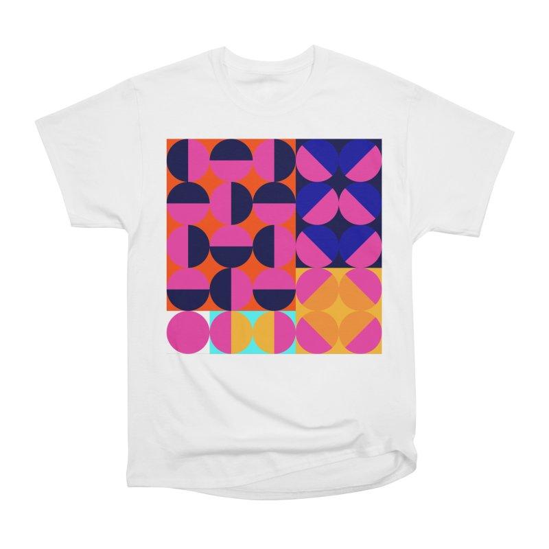 Geometric Design Series 4, Poster 8 (Version2) Men's Heavyweight T-Shirt by Madeleine Hettich Design & Illustration
