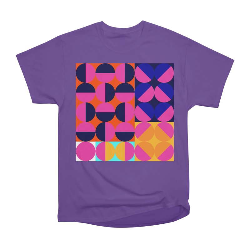 Geometric Design Series 4, Poster 8 (Version2) Women's Heavyweight Unisex T-Shirt by Madeleine Hettich Design & Illustration