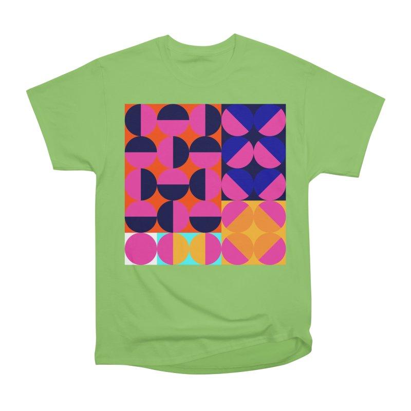 Geometric Design Series 4, Poster 8 (Version2) Women's Heavyweight Unisex T-Shirt by Madeleine Hettich Design & Illustration