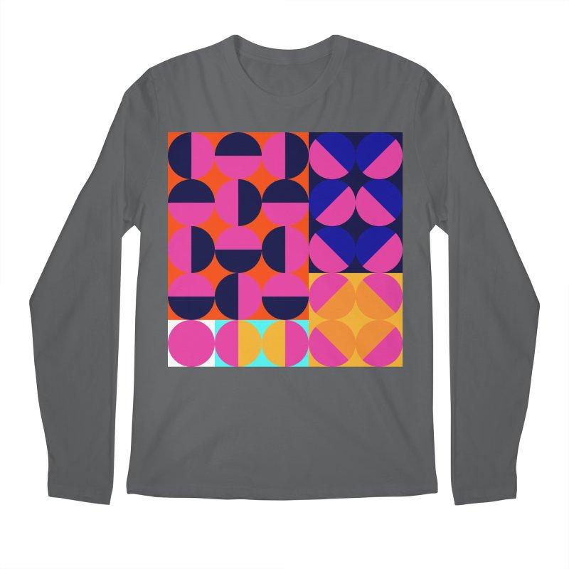 Geometric Design Series 4, Poster 8 (Version2) Men's Longsleeve T-Shirt by Madeleine Hettich Design & Illustration