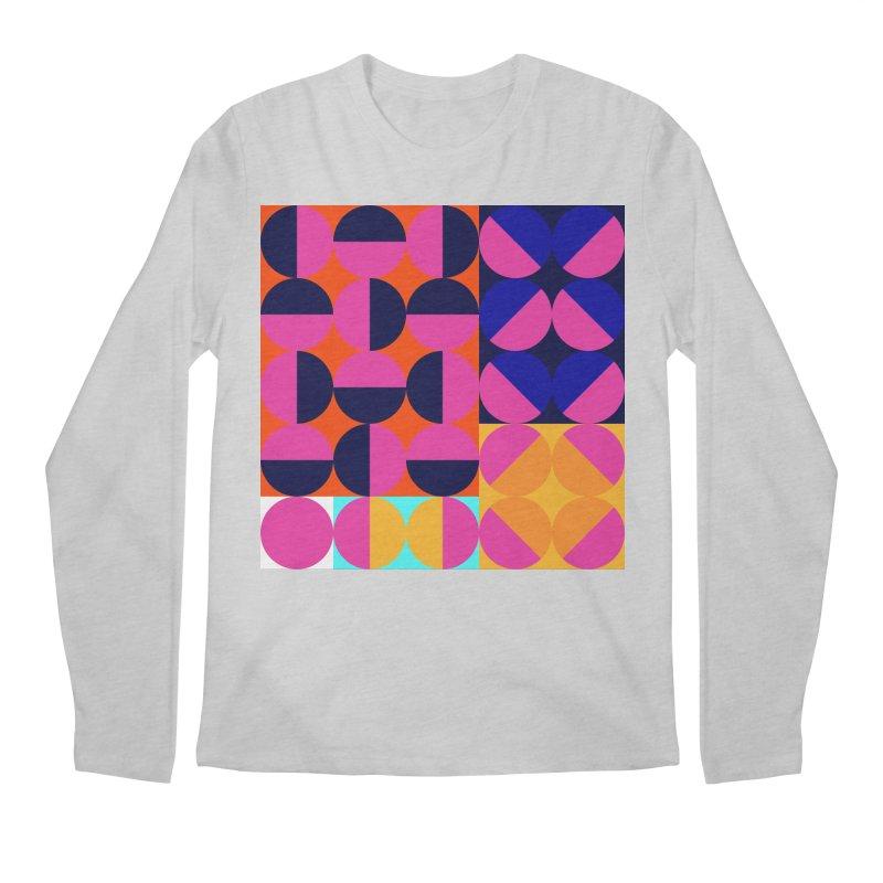 Geometric Design Series 4, Poster 8 (Version2) Men's Regular Longsleeve T-Shirt by Madeleine Hettich Design & Illustration