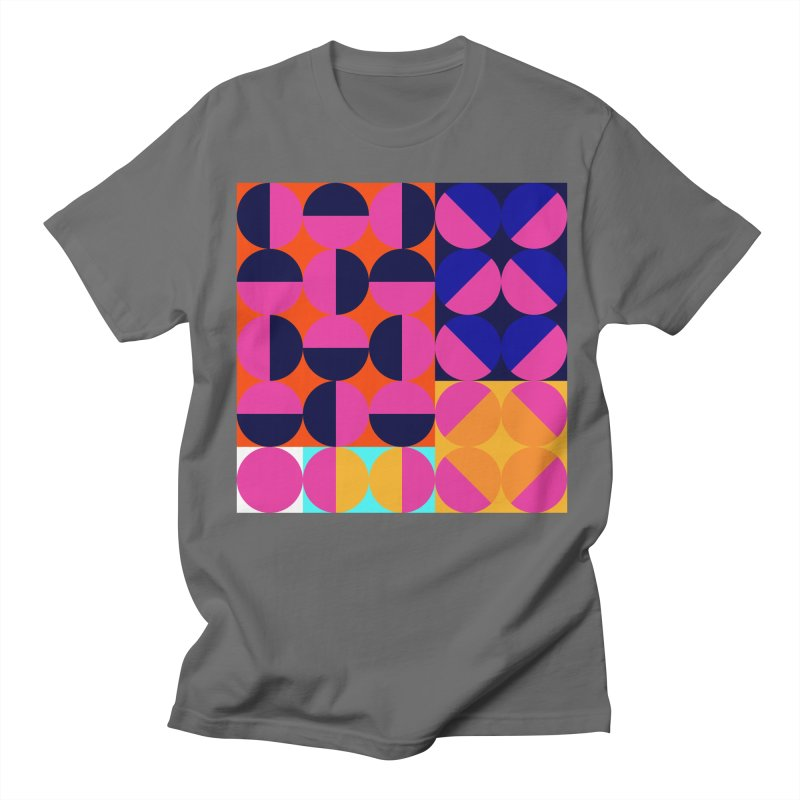 Geometric Design Series 4, Poster 8 (Version2) Men's T-Shirt by Madeleine Hettich Design & Illustration
