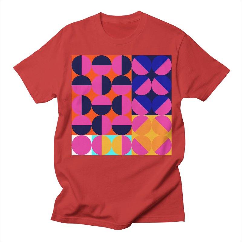 Geometric Design Series 4, Poster 8 (Version2) Women's Regular Unisex T-Shirt by Madeleine Hettich Design & Illustration