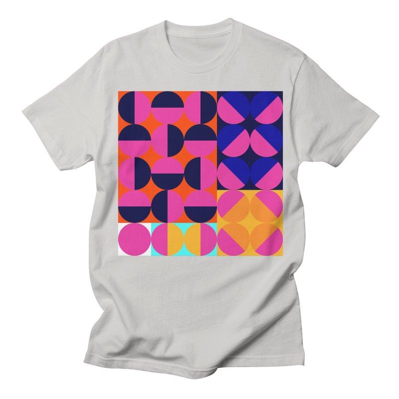 Geometric Design Series 4, Poster 8 (Version2) Men's Regular T-Shirt by Madeleine Hettich Design & Illustration
