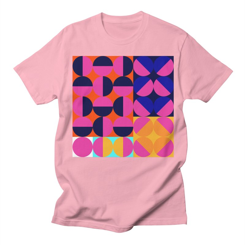 Geometric Design Series 4, Poster 8 (Version2) Men's Regular T-Shirt by Madeleine Hettich Design & Illustration