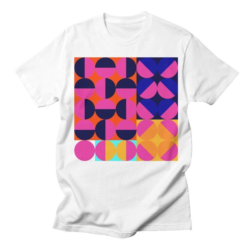 Geometric Design Series 4, Poster 8 (Version2) Women's Regular Unisex T-Shirt by Madeleine Hettich Design & Illustration