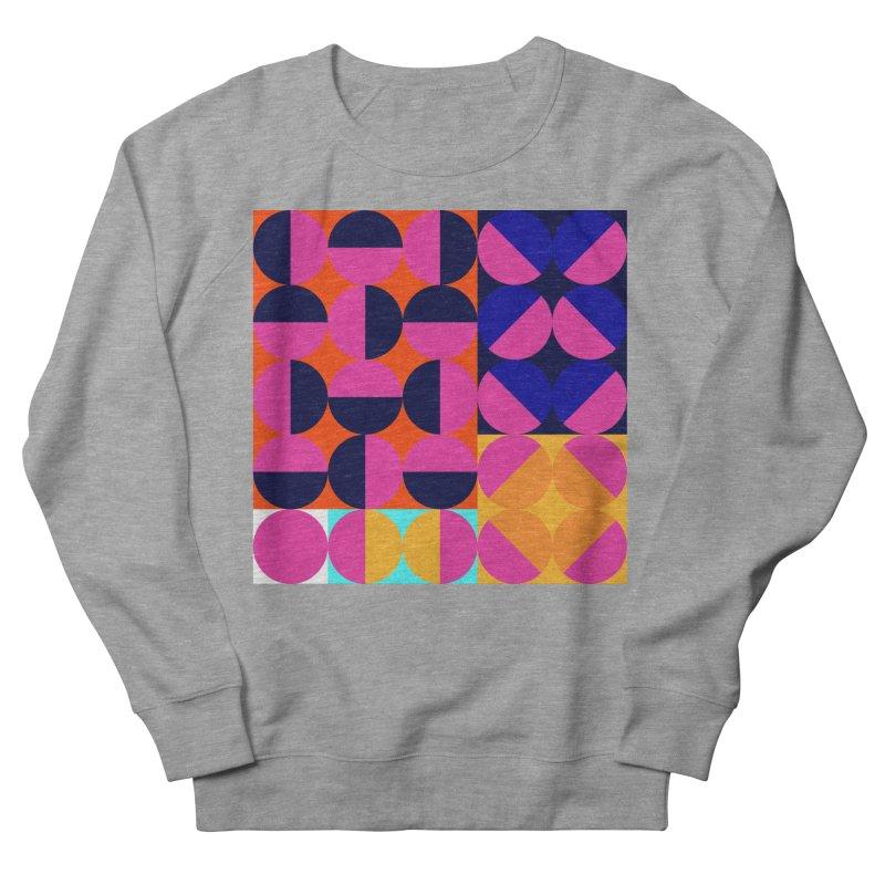 Geometric Design Series 4, Poster 8 (Version2) Women's French Terry Sweatshirt by Madeleine Hettich Design & Illustration