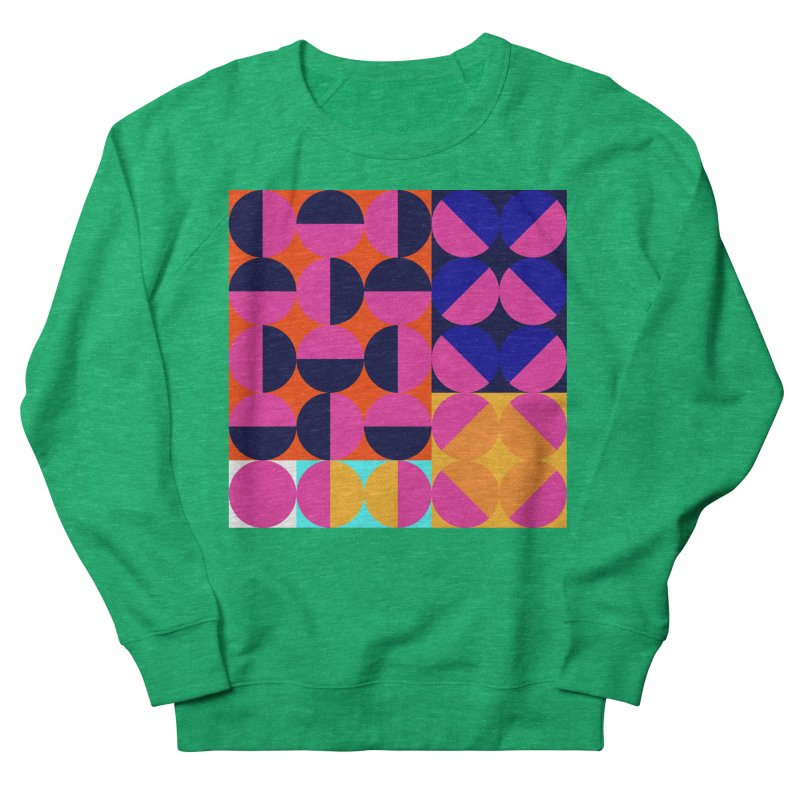 Geometric Design Series 4, Poster 8 (Version2) Men's French Terry Sweatshirt by Madeleine Hettich Design & Illustration