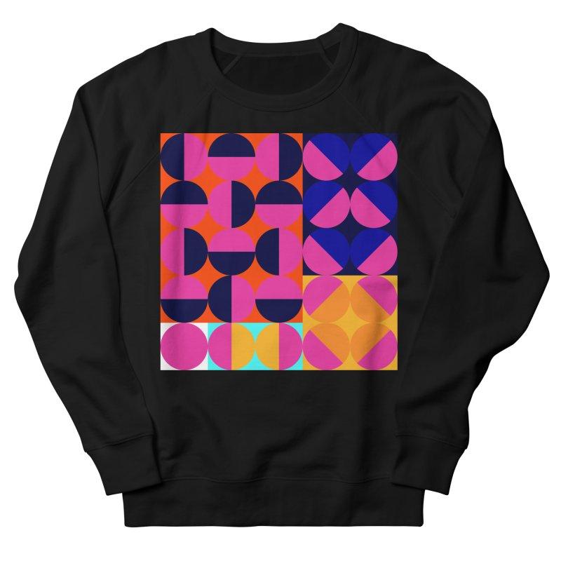 Geometric Design Series 4, Poster 8 (Version2) Men's French Terry Sweatshirt by Madeleine Hettich Design & Illustration