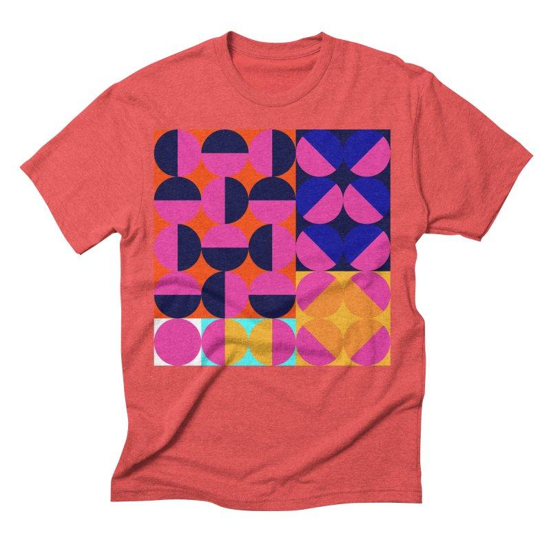 Geometric Design Series 4, Poster 8 (Version2) Men's Triblend T-Shirt by Madeleine Hettich Design & Illustration