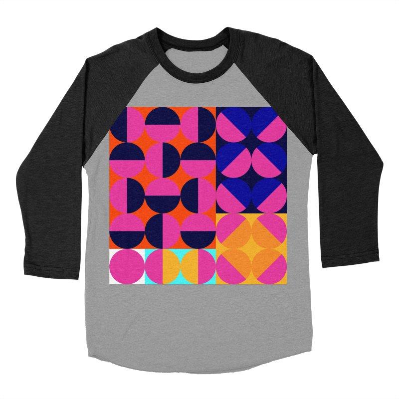 Geometric Design Series 4, Poster 8 (Version2) Women's Baseball Triblend T-Shirt by Madeleine Hettich Design & Illustration