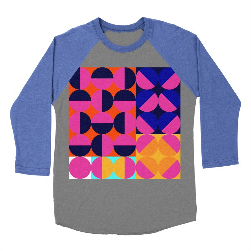 Geometric Design Series 4, Poster 8 (Version2) Men's Baseball Triblend T-Shirt by Madeleine Hettich Design & Illustration