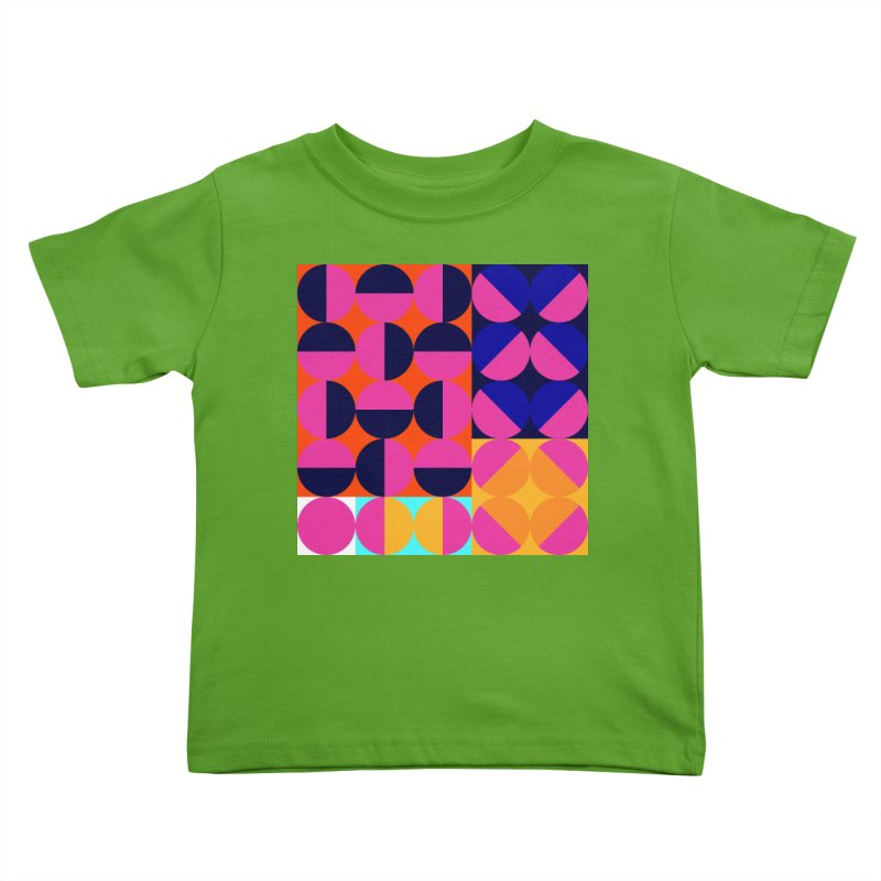 Geometric Design Series 4, Poster 8 (Version2) Kids Toddler T-Shirt by Madeleine Hettich Design & Illustration