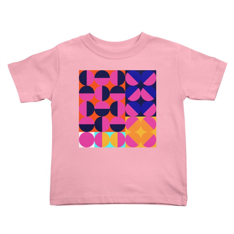 Geometric Design Series 4, Poster 8 (Version2) Kids Toddler T-Shirt by Madeleine Hettich Design & Illustration