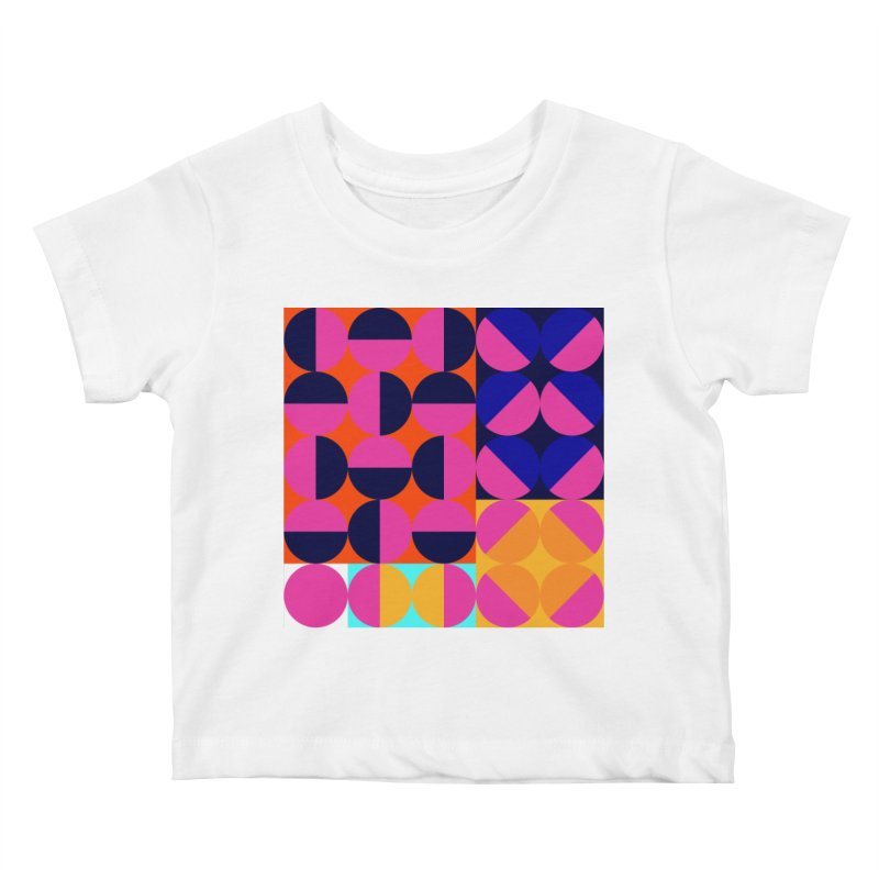 Geometric Design Series 4, Poster 8 (Version2) Kids Baby T-Shirt by Madeleine Hettich Design & Illustration