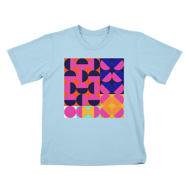 Geometric Design Series 4, Poster 8 (Version2) Kids T-Shirt by Madeleine Hettich Design & Illustration