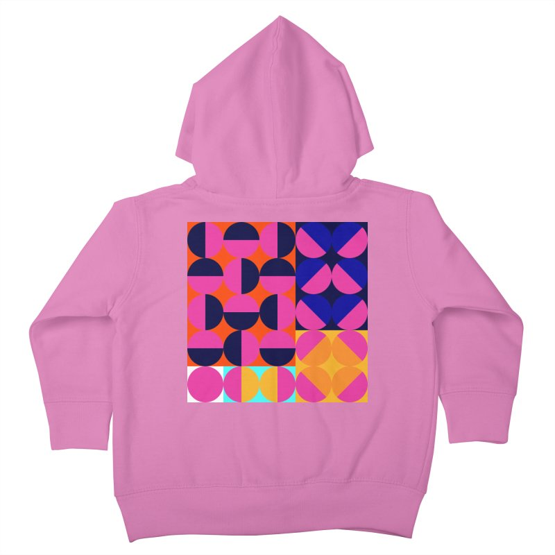 Geometric Design Series 4, Poster 8 (Version2) Kids Toddler Zip-Up Hoody by Madeleine Hettich Design & Illustration