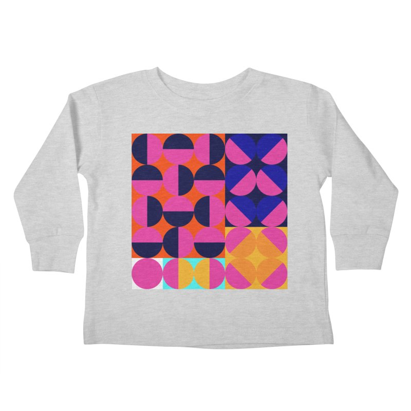 Geometric Design Series 4, Poster 8 (Version2) Kids Toddler Longsleeve T-Shirt by Madeleine Hettich Design & Illustration