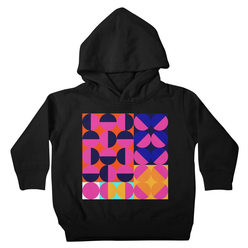 Geometric Design Series 4, Poster 8 (Version2) Kids Toddler Pullover Hoody by Madeleine Hettich Design & Illustration