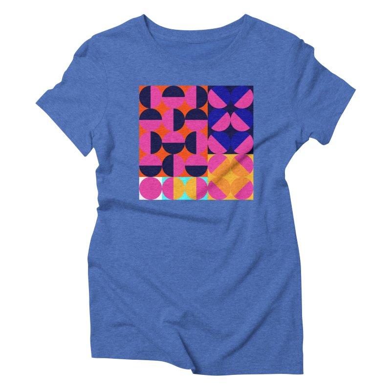 Geometric Design Series 4, Poster 8 (Version2) Women's T-Shirt by Madeleine Hettich Design & Illustration