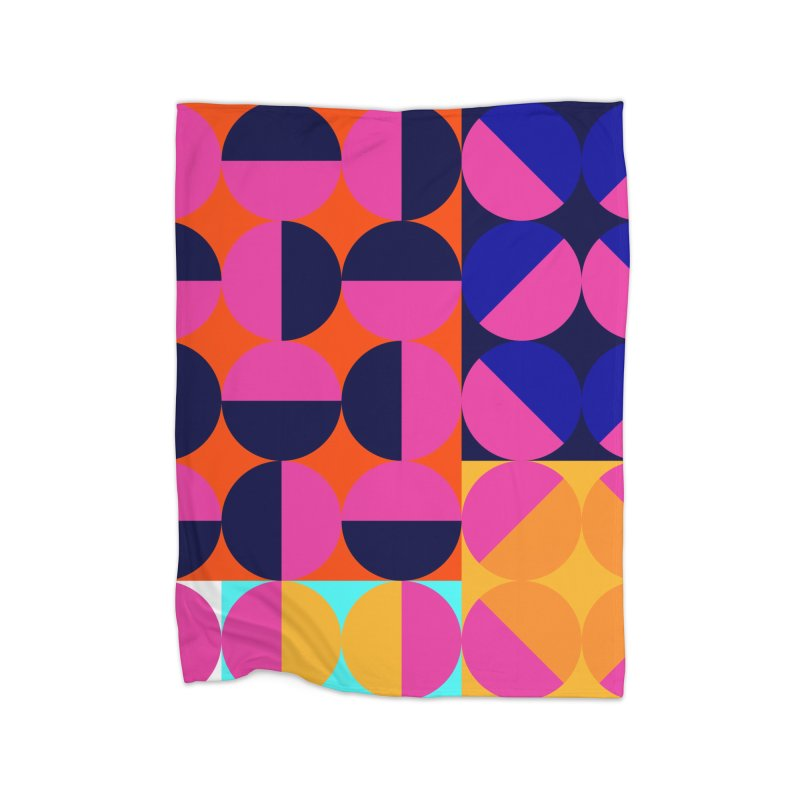 Geometric Design Series 4, Poster 8 (Version2) Home Fleece Blanket Blanket by Madeleine Hettich Design & Illustration