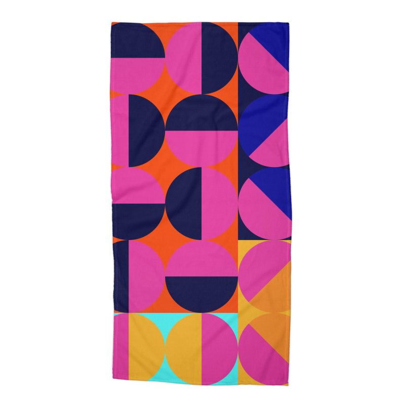 Geometric Design Series 4, Poster 8 (Version2) Accessories Beach Towel by Madeleine Hettich Design & Illustration