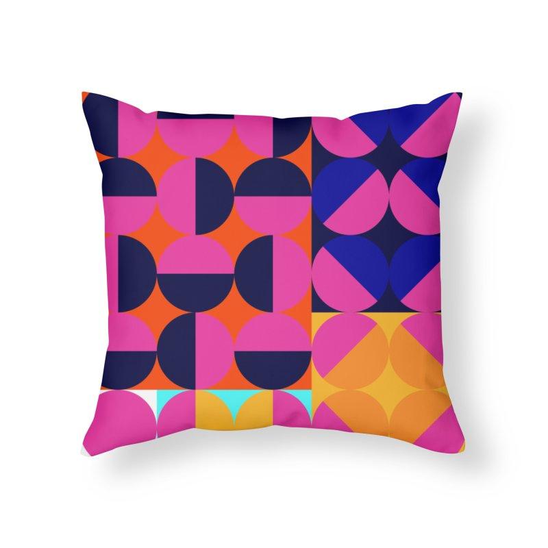 Geometric Design Series 4, Poster 8 (Version2) Home Throw Pillow by Madeleine Hettich Design & Illustration