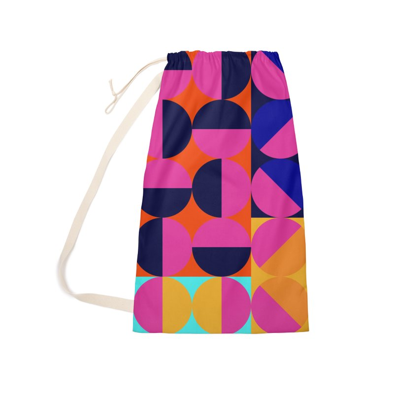 Geometric Design Series 4, Poster 8 (Version2) Accessories Laundry Bag Bag by Madeleine Hettich Design & Illustration