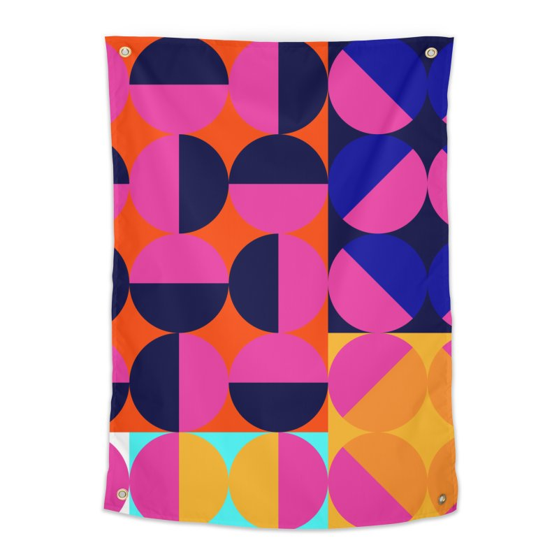 Geometric Design Series 4, Poster 8 (Version2) Home Tapestry by Madeleine Hettich Design & Illustration