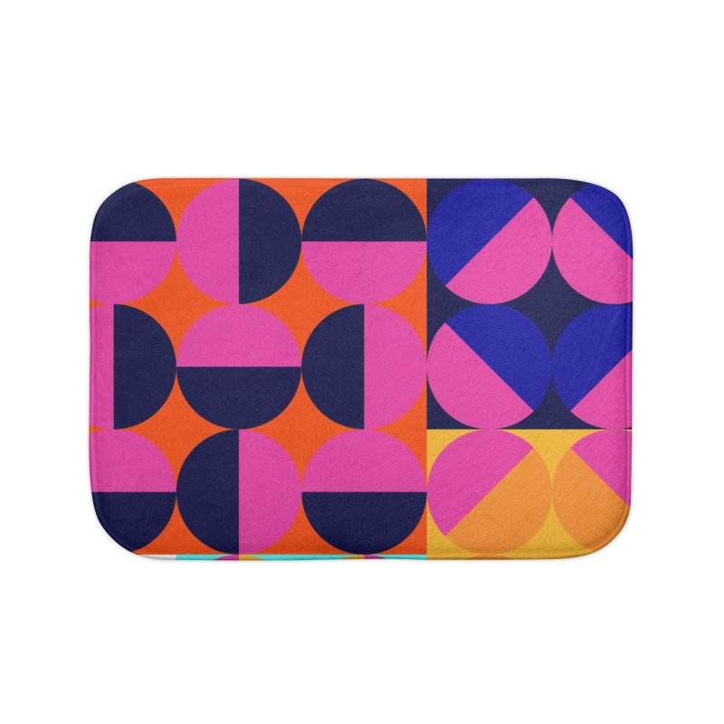 Geometric Design Series 4, Poster 8 (Version2) Home Bath Mat by Madeleine Hettich Design & Illustration