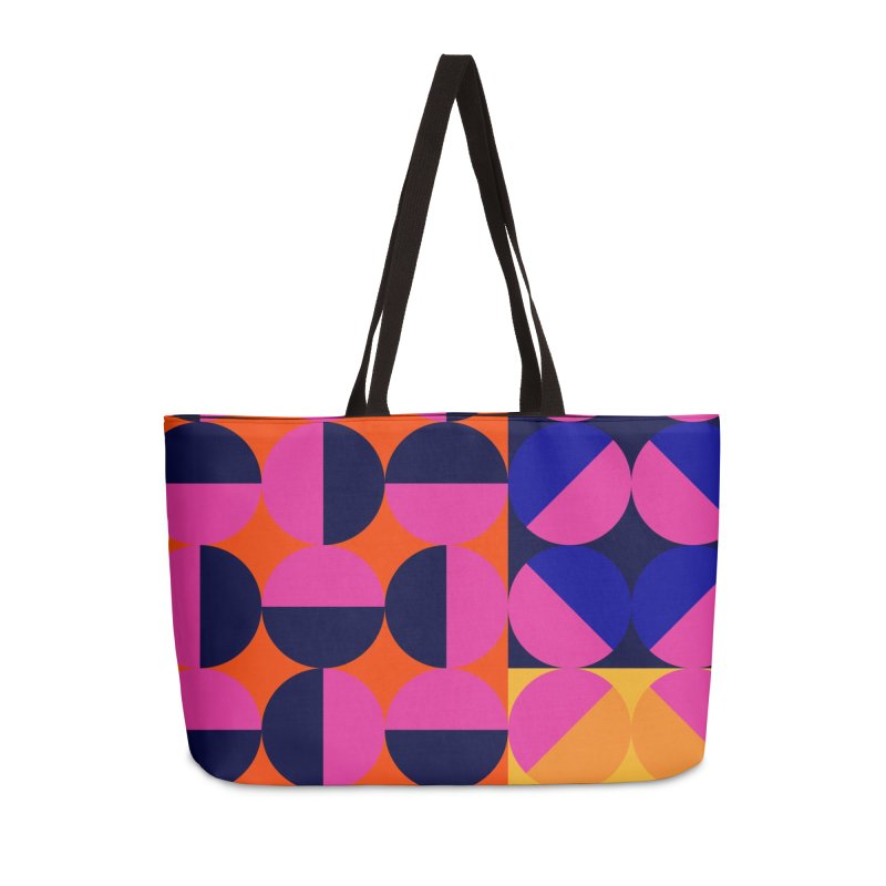 Geometric Design Series 4, Poster 8 (Version2) Accessories Weekender Bag Bag by Madeleine Hettich Design & Illustration