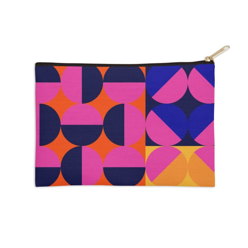 Geometric Design Series 4, Poster 8 (Version2) Accessories Zip Pouch by Madeleine Hettich Design & Illustration
