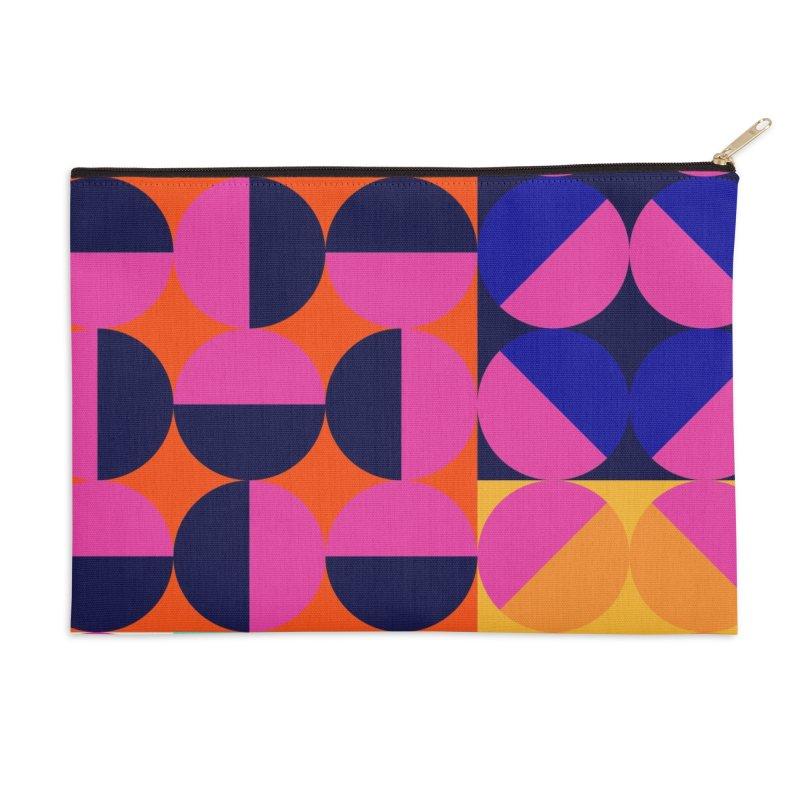 Geometric Design Series 4, Poster 8 (Version2) Accessories Zip Pouch by Madeleine Hettich Design & Illustration