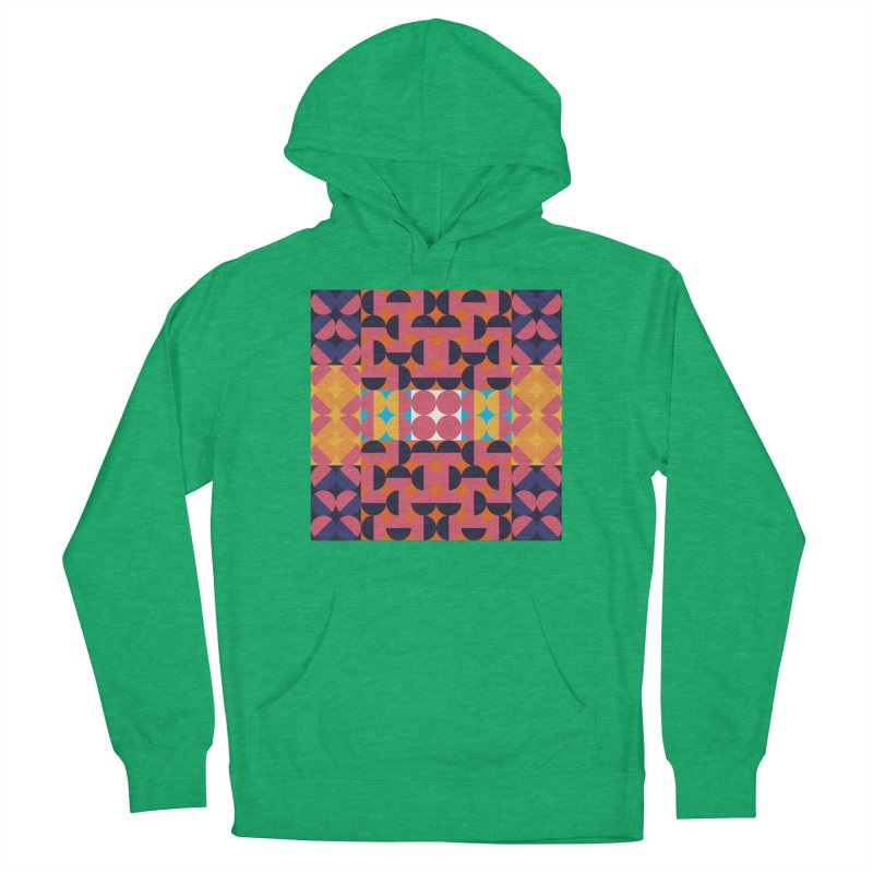 Geometric Design Series 4, Poster 7 Men's French Terry Pullover Hoody by Madeleine Hettich Design & Illustration