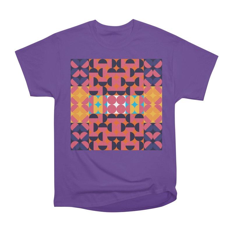 Geometric Design Series 4, Poster 7 Men's Heavyweight T-Shirt by Madeleine Hettich Design & Illustration