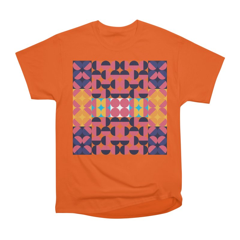 Geometric Design Series 4, Poster 7 Women's Heavyweight Unisex T-Shirt by Madeleine Hettich Design & Illustration