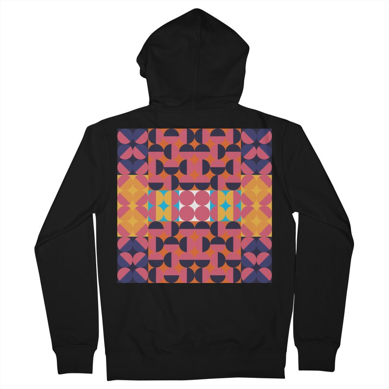 Geometric Design Series 4, Poster 7 Women's French Terry Zip-Up Hoody by Madeleine Hettich Design & Illustration