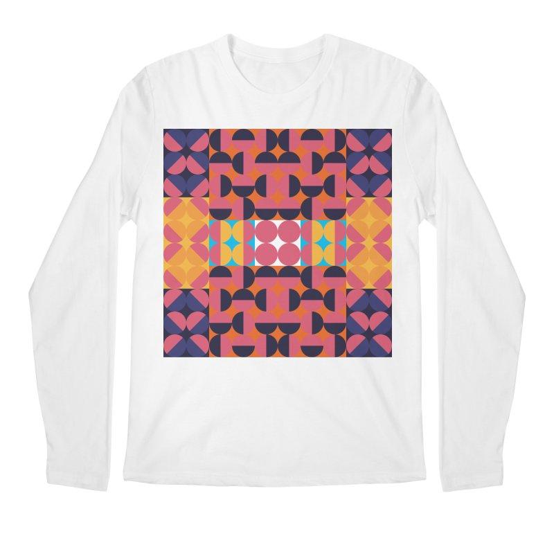 Geometric Design Series 4, Poster 7 Men's Regular Longsleeve T-Shirt by Madeleine Hettich Design & Illustration